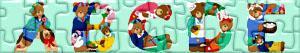 Puzzle di Lettere con orsi